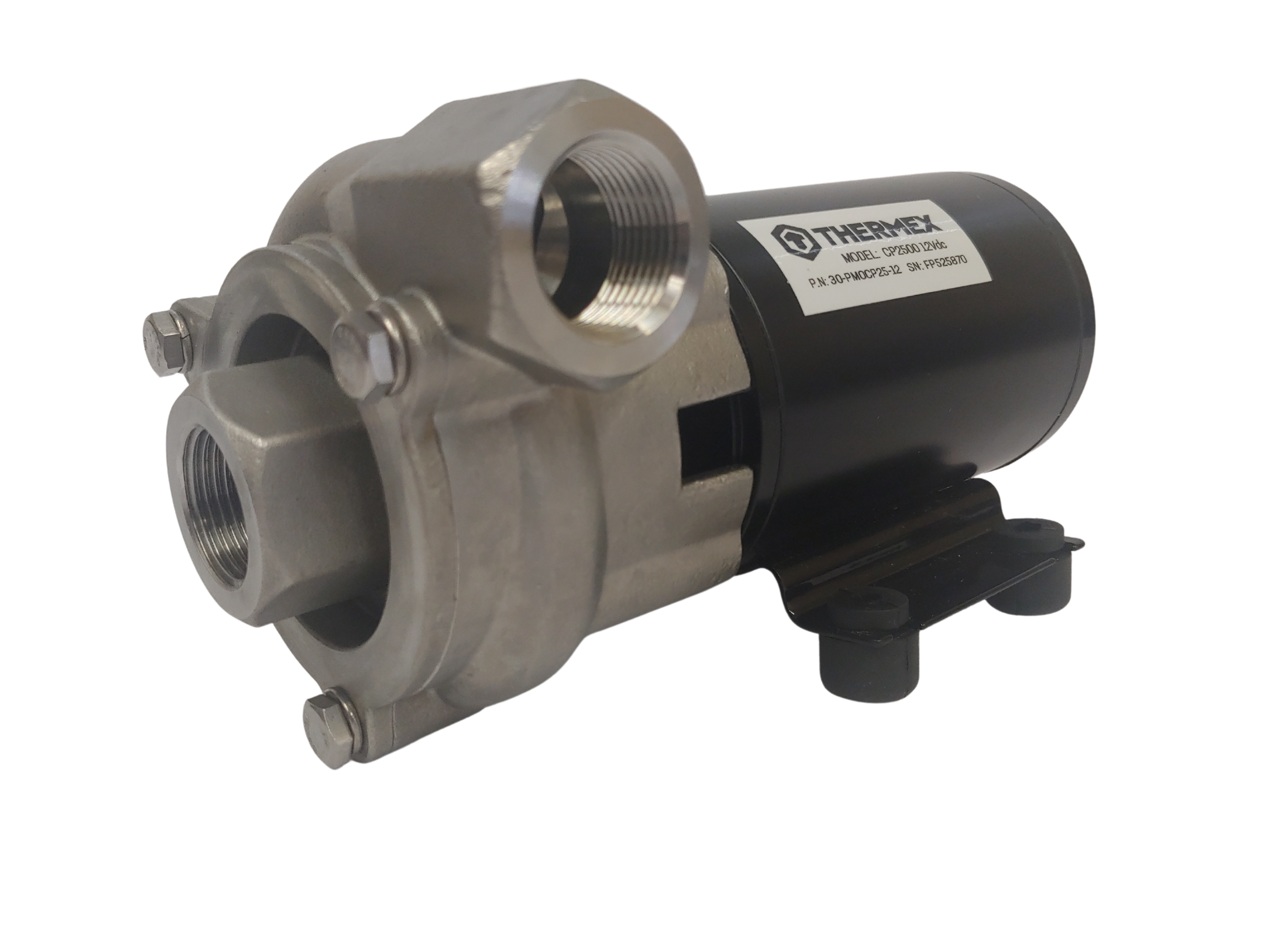 high flow stainless steel coolant pump