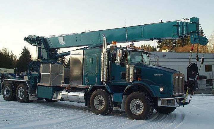 Construction Industry - Crane Truck