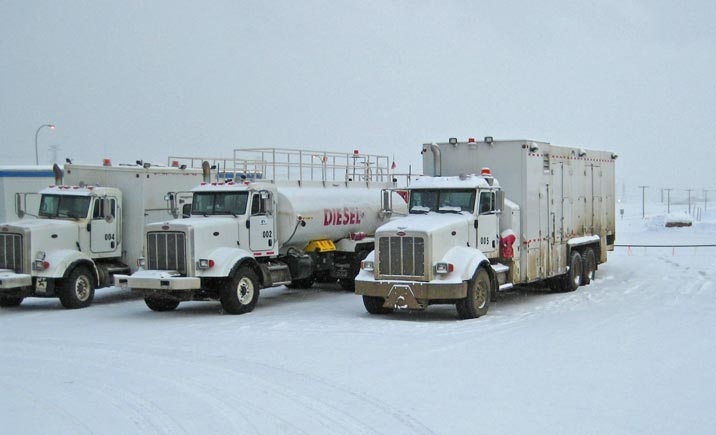 Fluid & Fuel Warming Systems Fuel Lube Trucks Mine Site