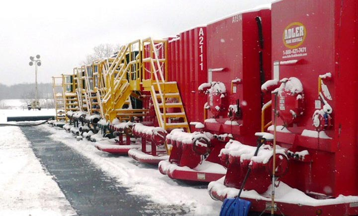 Freeze Protection Frac Tanks