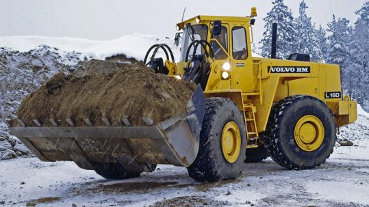 Heavy Equipment Industries Volvo Loader