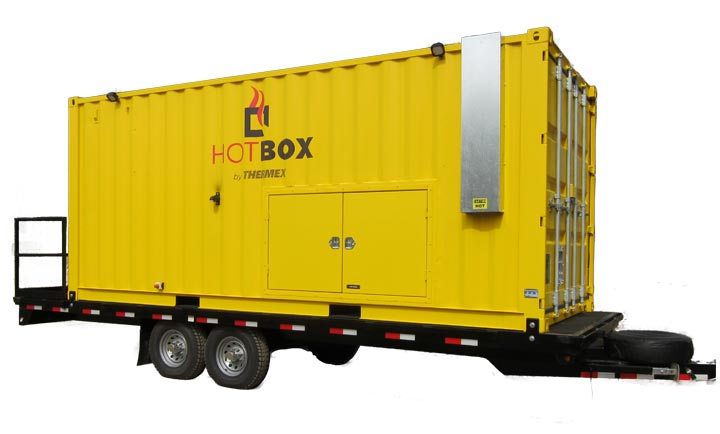 HotBox Mining Mobile Hot Air Asset Recovery