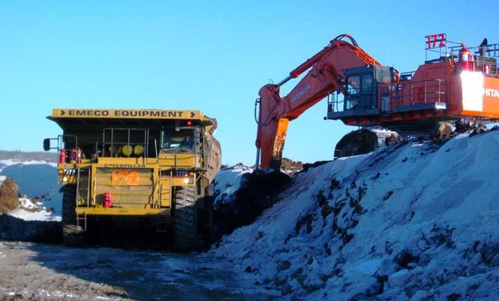 Mining Industry Overburden Removal