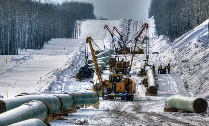 Oil & Gas Industry - Pipeline Spread