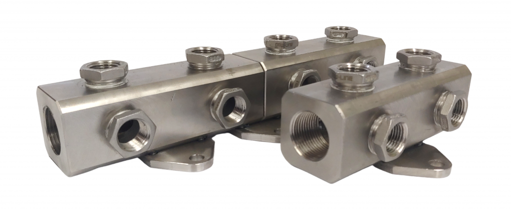 Stainless Steel Coolant Manifold