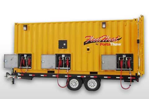 FleetHeat™ Mobile Central Fleet Heating System