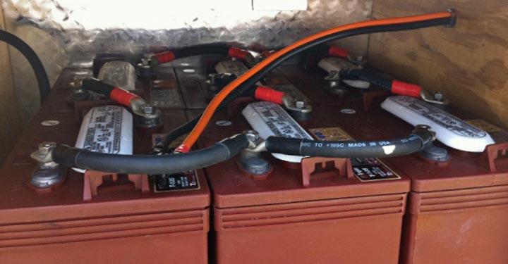 heat-probe-battery-warming-system-on-heavy-truck-semi