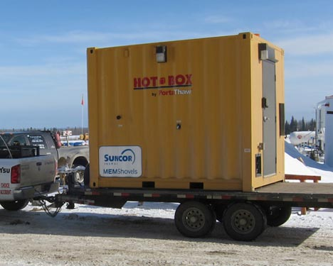 hotbox-mobile-hot-air-system-custom-heating-module-on-flat-tow