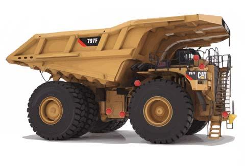 Mining Exploration - Haul Truck Diagram