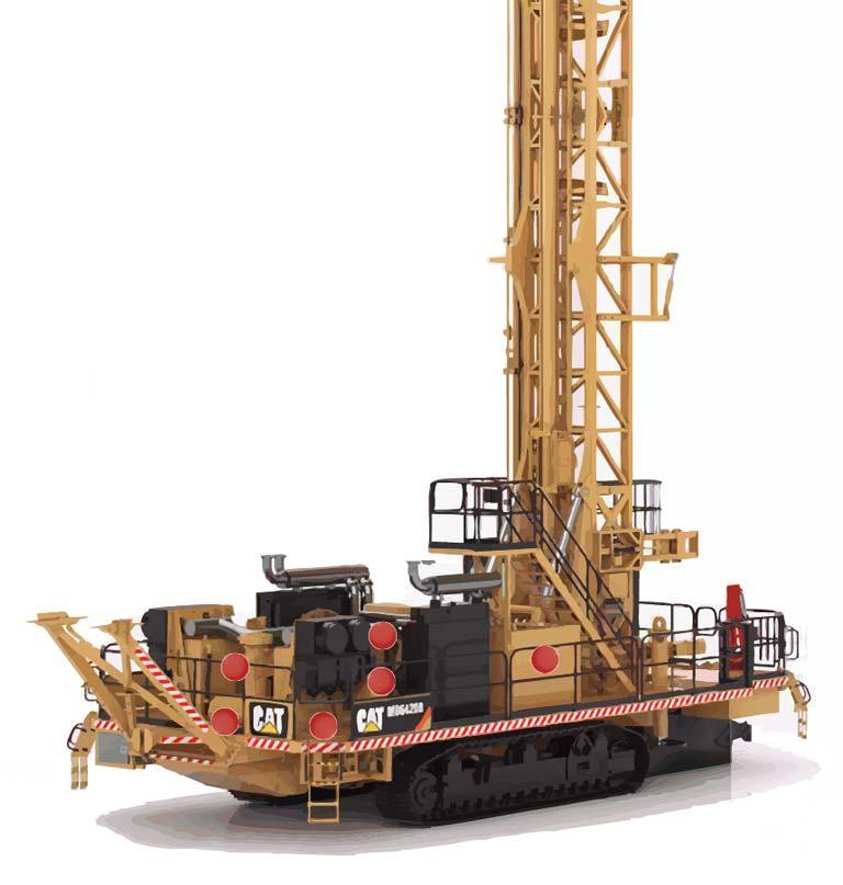 Mining Exploration - Rock Drill Component Diagram