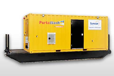 PortaWash™ Transportable Fleet Washing System